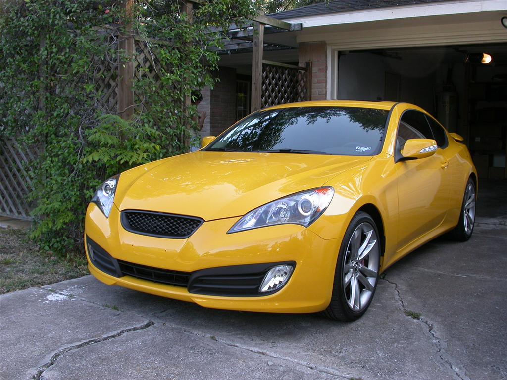 My New Dd 2012 Genesis Coupe 3 8 Track